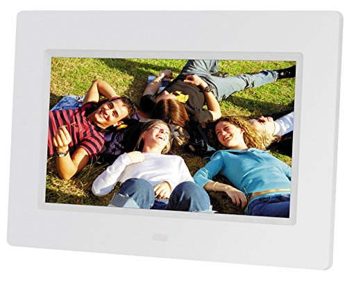 "Braun DigiFrame 711 7"" Blanco Marco fotográfico Digital - Marco Digital (17,8 cm (7""), 800 x 480 Pixeles, TFT, 250 CD/m², 400:1, 4:3, 16:9)"