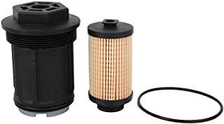 ZN Filtro Carburante 10//6 Pollici Alluminio 1//2-28 O 5//8-24 Filtri per Napa 4003 WIX 24003 Filtro Carburante Auto Filtro Auto Trappola Solvente Argento 10 Pollici 1//2-28