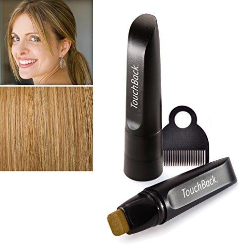 TouchBack PRO Ansatz-Kaschierstift für graues Haar – Echte Haarfarbe Goldblond