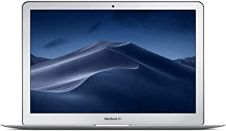 Apple MacBook Air (13-inch, Previous Model, 8GB RAM, 128GB Storage, 1.8GHz Intel Core i5) - Silver