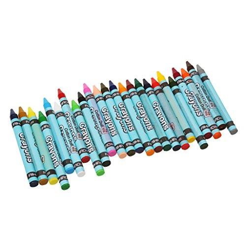 magideal Kreide Stick Kid Malen Zeichnen Skizzieren-Set von 24Farben
