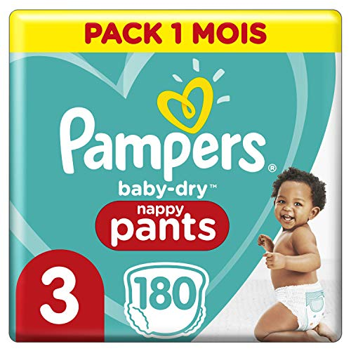 Pampers 9-15 kg Couches-culottes Taille 4 Baby Dry Pants - Mega Pack...