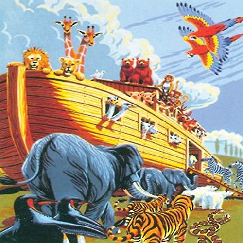 Royal & Langnickel PJS23 Peinture d'après les chiffres Taille A4 L'Arche de Noé