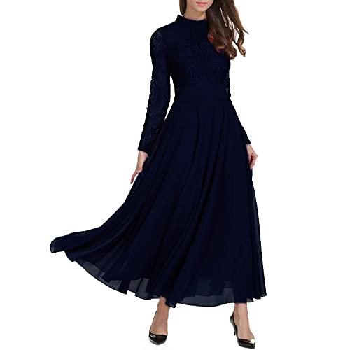 073be5361e9b Maxi Long Sleeve Dress  Amazon.co.uk