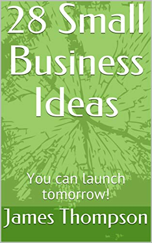 28 Small Business Ideas: You can launch tomorrow! (English Edition)