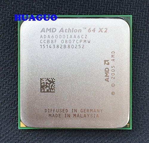 AMD ada6000iaa6cz Athlon 64X26000+ 3GHz Dual-Core CPU Prozessor Sockel AM22MB 89W