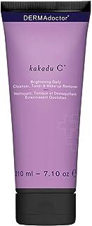 Dermadoctor Kakadu C Brightening Daily Cleanser Toner & Make 180 ml, Pack of 1 (DDSKKC)