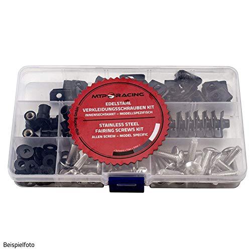 Verkleidungsschrauben OEM Style passend für Suzuki GSXR600/GSXR750 K8-L0 Silber Style 2