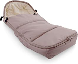 Leclerc baby - Saco silla paseo universal Verde Arena - Saco de Dormir para invierno - Sacos térmicos para carro de bebé.