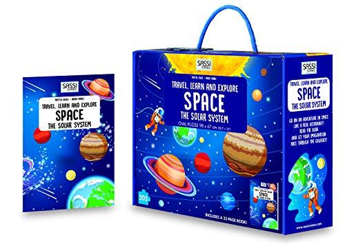 Space. The solar system. Travel, learn and explore. Libro puzzle. Ediz. a colori. Con puzzle (Science)