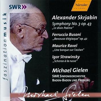 Scriabin: Symphony No. 3, Op. 43 / Busoni: Berceuse Elegiaque, Op. 42