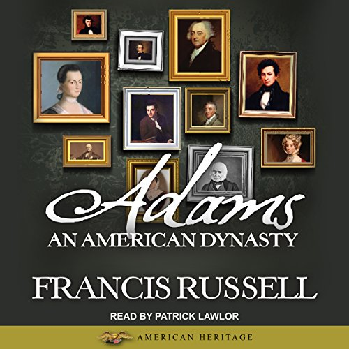 Adams audiobook cover art