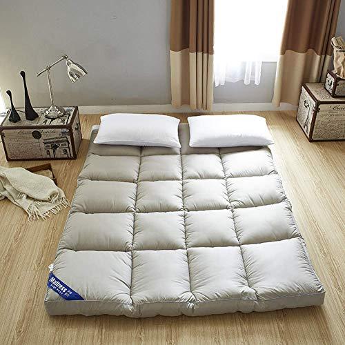 YDYL-LI Tatami Floor Mat,Traditional Japanese Futon Mattress Thicken Sleeping Mat Foldable Cushion Mats Japanese Folding Bed Mattresses For Gray 120x200cm(47x79inch)