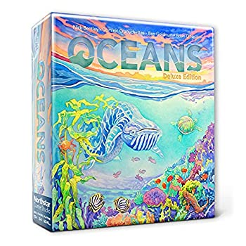 North Star Games Evolution  Oceans Board Game | Deluxe Edition | Adapt to Survive!