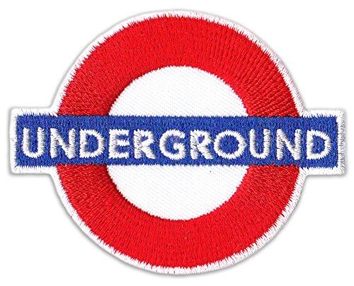 Underground parche planchar Patch Techno Tech House