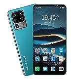 Beautyup Teléfono móvil S20 U1tra teléfono Inteligente Android de 6,1 Pulgadas 8 + 128GB, batería 5600mah teléfono móvil Que Muestra Red 4G / 5G (Color : Green)