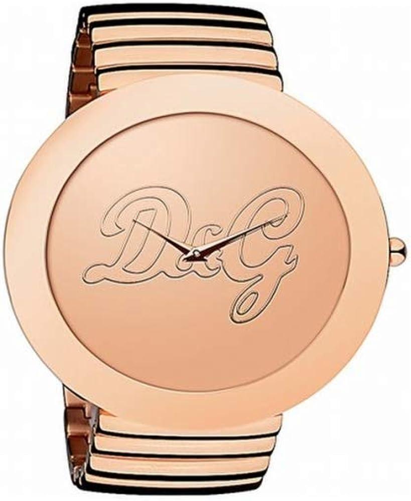 Dolce & gabbana orologio da donna,  in acciaio inossidabile DW0282