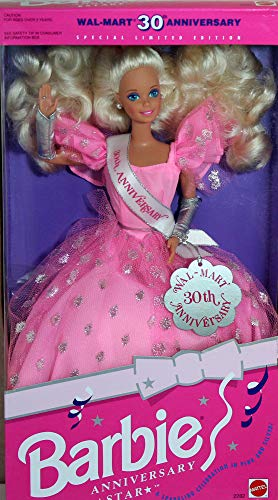 Barbie Anniversary Star Doll Wal-Mart 30th Anniversary Special Limited Edition (1992)