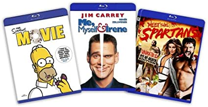 Comedy Bundle: (Simpsons the Movie / Me, Myself and Irene / Meet the Spartans)