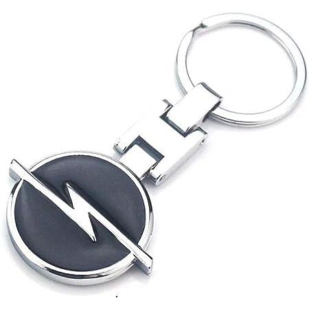 Fitracker 3d Auto Logo Metalllegierung Doppelseitig Auto Schlüsselanhänger Zubehör Mit Geschenk Box Auto