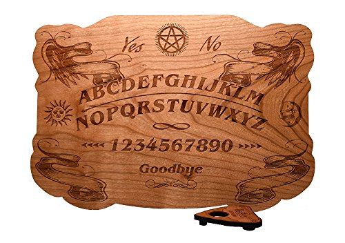 Beatus Lignum Wood Ouija 100% Cherry, Wood - 13.5 x 9.5 in 1/4 Thick - All Natural - Plain Wood - Summon with Class and HIGH Success