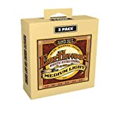 Ernie Ball Earthwood 80/20 Bronze Medium Light Acoustic Guitar Strings 3-Pack - 12-54 Gauge (P03003)