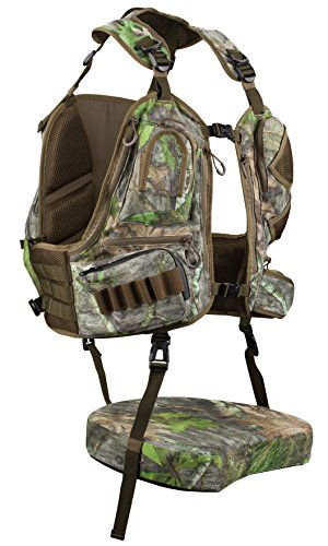 Knight & Hale KHT0068 Run N' Gun 300-Mossy Oak Turkey Vest, Mossy Oak Obsession