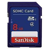 Sandisk Standard Flash Memory Card - 8 GB - SDHC (DV7766) Category: SD Memory Cards
