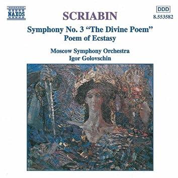 SCRIABIN: Symphony No. 3  / Poem of Ecstasy