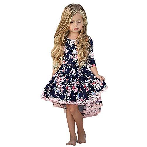 Robes pour Noël, Mamum bébé fille princesse robe vêtements (110(2-3Ans))