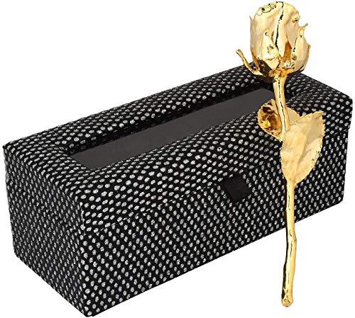 Billion Deals 24K Gold Dipped Natural Rose with Beautiful Box Gift Men,Women,Girl & Boy