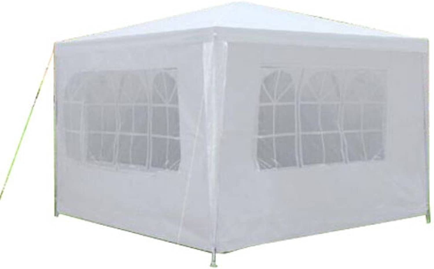 Gkdicet White Three Sides Waterproof Foldable Tent Gazebo Outdoor Sunshade Cover