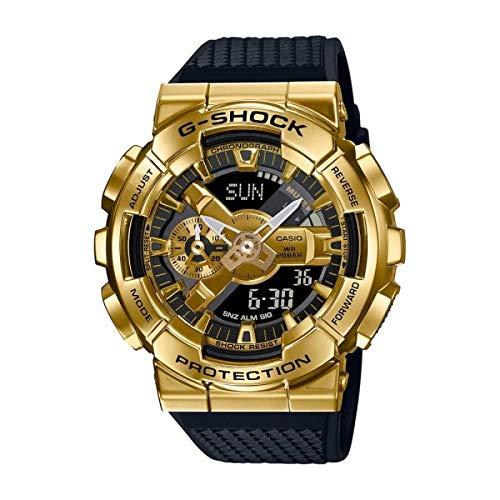 Reloj G-SHOCK Caballero Dorado Correa Negra