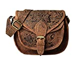 LEADERACHI Crossbody Shoulder Purse For Women | 100% Pure, Durable, Sling Leather Handbag With Classic Design