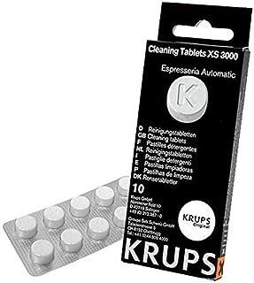 Krups Tablettes Détergentes Espresseria Compatible Pour Full Auto Krups EA/XP et Rowenta ES Accessoire Officiel XS300010