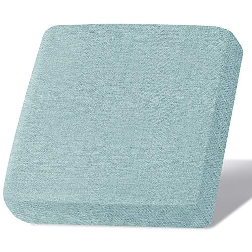 Linen Couch Cushion Covers, Sofa Cover Sofa Furniture Protector Slipcover with Bottom Tie rope, Soft Non-Slip Non-Wrinkle Non-Sticky Suitable for Chair Bench Settee Seat Loveseat Light Blue 1 Pieces -  Naturoom