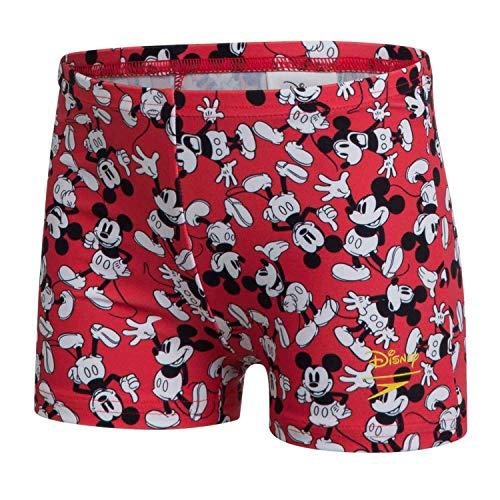 Speedo Boys Disney Mickey Mouse Digital Allover Aquashort Risk RedBlackWhite 5 YRS