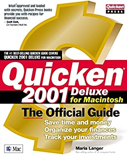 Quicken(r) 2001 Deluxe For Macintosh: The Official Guide (Quicken Press)