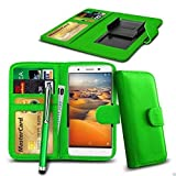 N4U Online® - Clip On PU Leather Wallet Case Cover & Pen