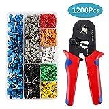 Trinquete crimpadora arrugador alicates para terminales eléctricos Crimps Spade TE00