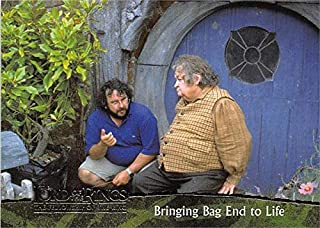 Peter Jackson trading card Lord of the Rings Fellowship LOR 2001 Topps #85