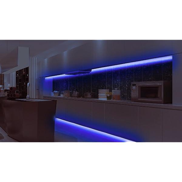 Led Strip Lights purple moulding