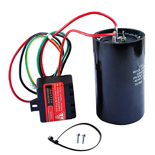 5-2-1 CSR-U3 Compressor Saver AC Hard Start Capacitor Compatible for 4-5 Tons, Hvac Hard Start Kit
