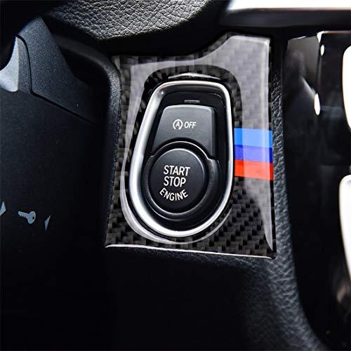Auto folie Carbon Fiber Aufkleber Film, Drei Farbe Carbon-Faser-Auto-Schlüssel-Loch-dekorative Aufkleber for BMW F30 2013-2018 / F34 2013-2017, sutible for Linksverkehr, Für Auto / Motorrad / Fahrrad-