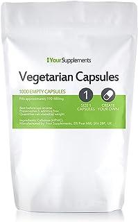 Lege vegetarische capsules   Maat 1 (1000)
