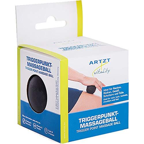 Unbekannt Vitality Vitality Triggerpunkt Massageball, schwarz, 6cm