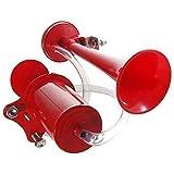 Worldshops Ultra Loud Bicycle Air Horn Truck Siren Sound 120dB