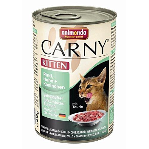 animonda Cat Carny Kitten Rind&Huhn&Kanin   6x400g