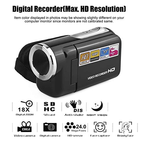 Videocamera Digitale Portatile Rotante 2.0 LCD