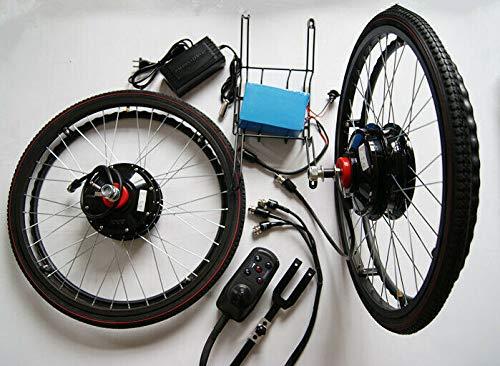 Motor para silla de ruedas (24 pulgadas, 24 V, 180 W, 16 Ah, batería de iones de litio)